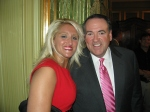 Angel and Mr. Mike Huckabee