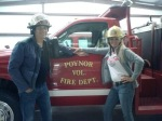 Poynor Fire Department was a big help for Tent Revival of America