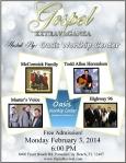 Feb 3 Gospel Poster