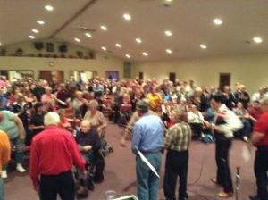 Ind. Full Gospel Church Ashley, IN Honoring Veterans