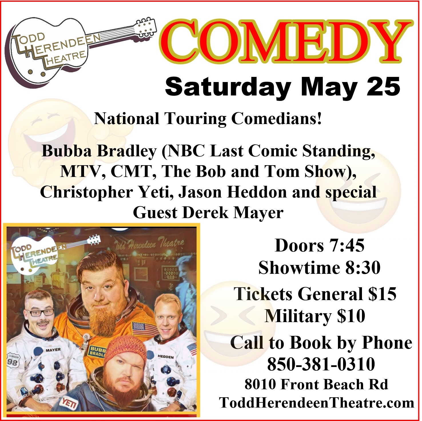Comedy Night THT may 25
