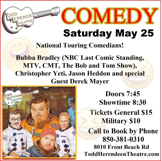 Comedy Night THT may 25
